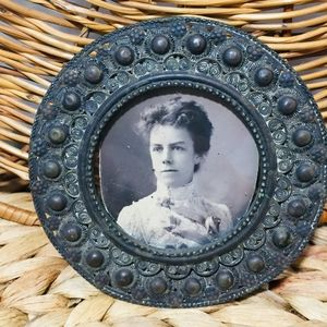 Vintage!  This picture frame is at least 100 years